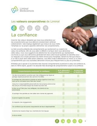 Liminal Trust Checklist (FR)