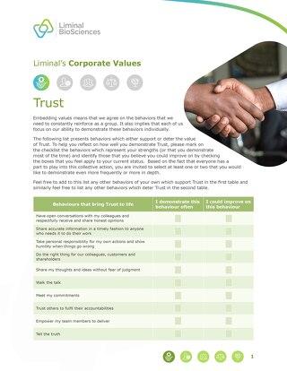 Liminal Trust Checklist (EN)