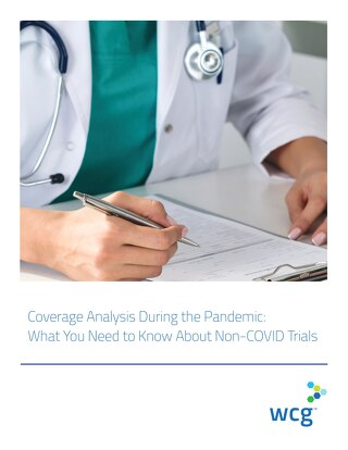 Article - Coverage Analysis for Non-COVID Trials During the Pandemic
