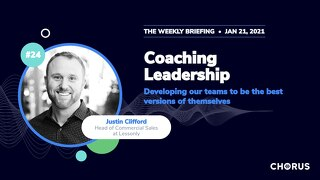 The Weekly Briefing Powered by Chorus - January 21