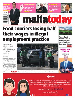 MALTATODAY 24 January 2021