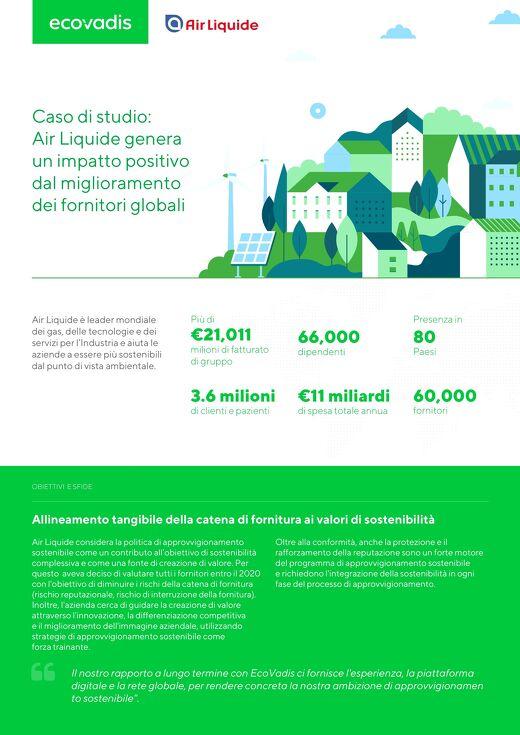 Creazione di valore attraverso l'approvvigionamento sostenibile: il caso di studio Air Liquide