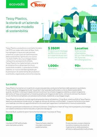 Tessy Plastics, la storia di un'azienda diventata modello di sostenibilità