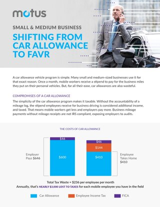 Small and Medium Business: Shifting From Car Allowance