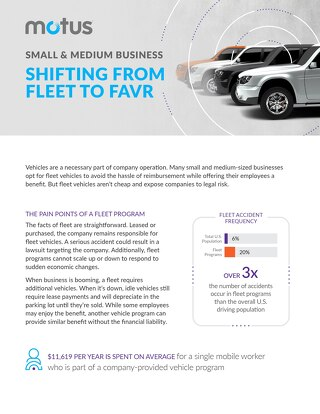Small and Medium Business: Shifting From Fleet