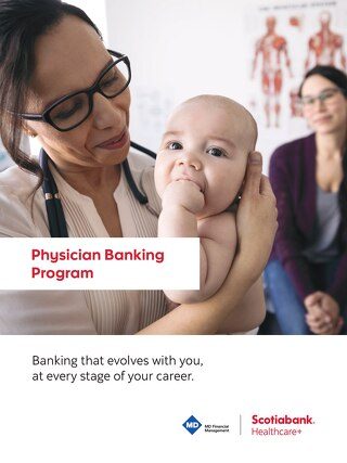 HealthCare+ physician banking program