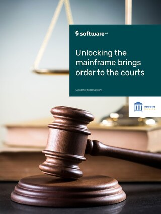 Delaware Courts unlocks mainframe for real-time data flow
