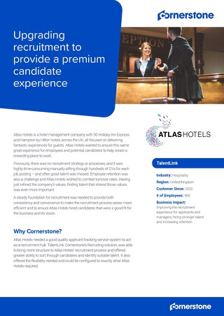 Case Study Atlas Hotels