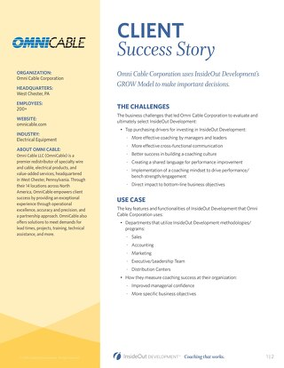 Omni Cable Corp Case Study