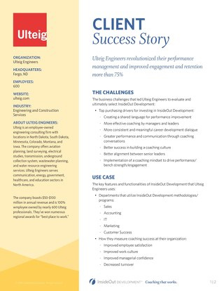 Ulteig Engineers Case Study