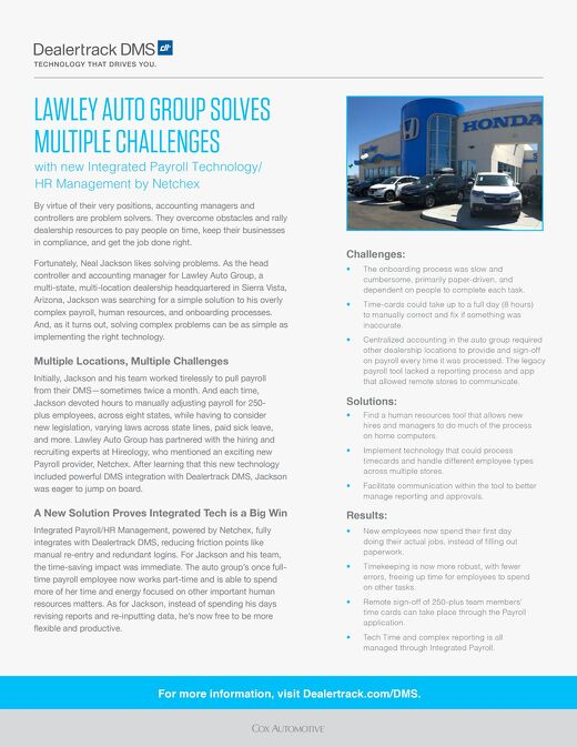 Lawley Auto Group Case Study