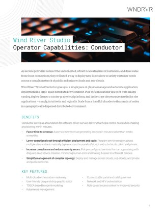 Wind River Studio Operator Capabilities: Orchestration