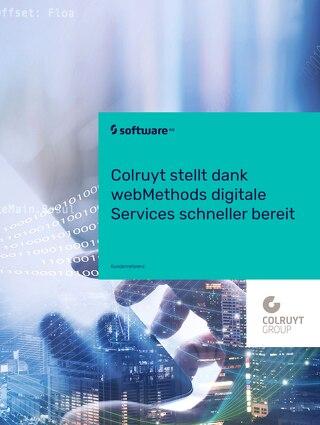 Colruyt stellt dank webMethods digitale Services schneller bereit