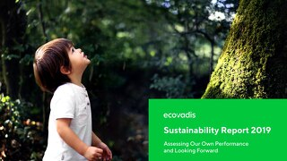 EcoVadis CSR/Sustainability Actions Report 2019 (englischsprachig)