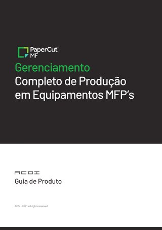 PaperCut MF Overview Brazil