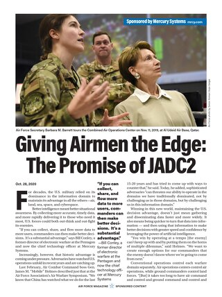 Giving Airmen the Edge JADC2