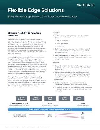 Flexible Edge Solutions