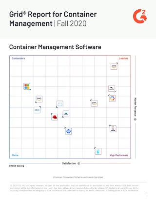 G2 Grid® Report for Container Management