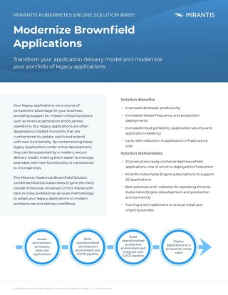 Modernize Brownfield Applications