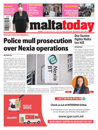 MALTATODAY 28 February 2021
