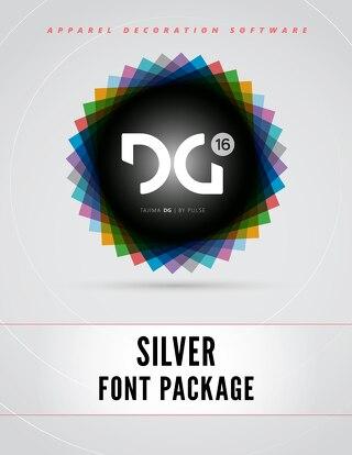 DG16 SILVER FONTS