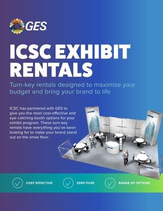 ICSC Exhibit Rentals