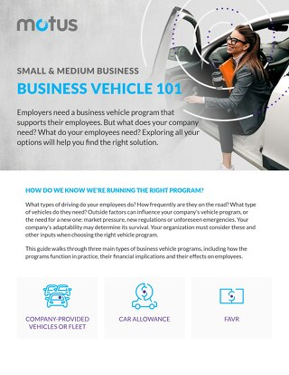 Small & Medium Business: Business Vehicle 101 Guide