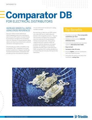 Comparator DB Datasheet