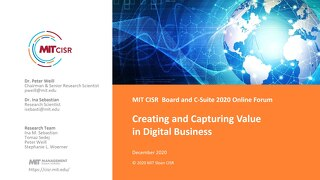 Creating and Capturing Value in Digital Business