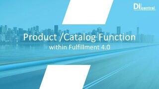 Fulfillment 4.0 - Product Catalog