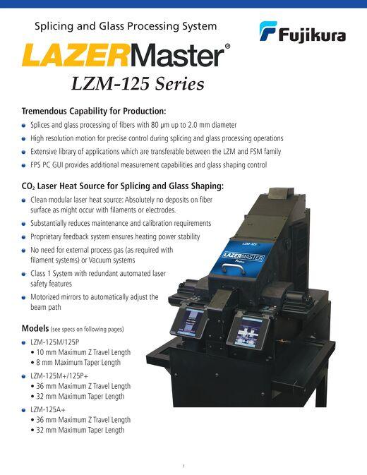 LAZERMaster® LZM-125 Series