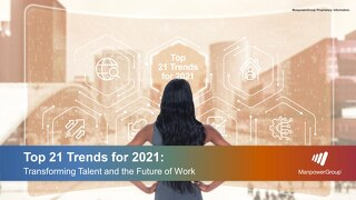 Top 21 Trends for 2021