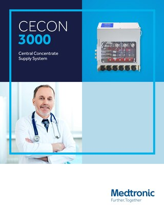 CECON 3000 Central Concentrate Supply System