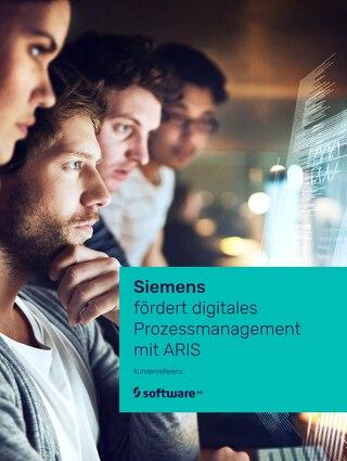 Siemens fördert digitales Prozessmanagement mit ARIS
