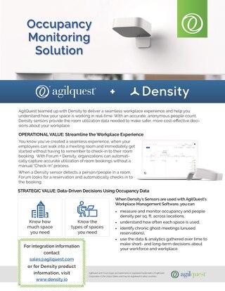 Density Sensors + AgilQuest