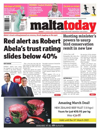 MALTATODAY 7 March 2021