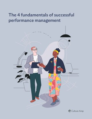 The four fundamentals of successful performance management