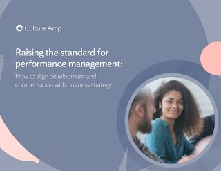 Raising the standard for performance management