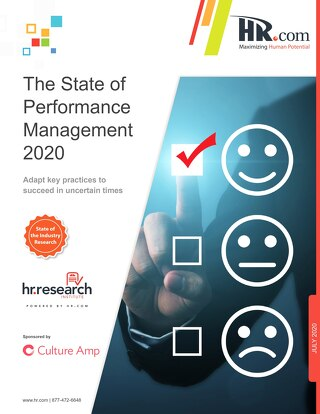 The State Of Performance Management 2020 Research Report Hr.com