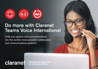 Claranet | Teams Voice International