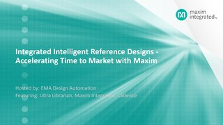 Integrated Intelligent Reference Designs Webinar