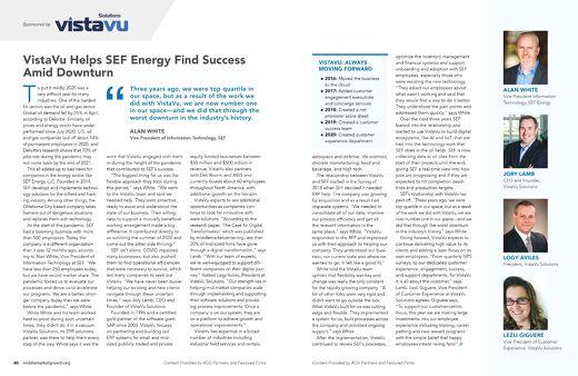 ACG Growth Magazine | SEF Energy | Thriving Through Innovation