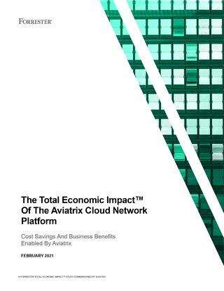 2021 Forrester Total Economic Impact™ Study on Aviatrix