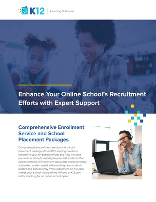 Full-Time Online School Recruitment Support