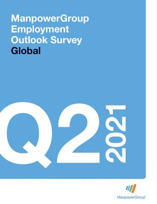 ManpowerGroup Employment Outlook Q2 2021