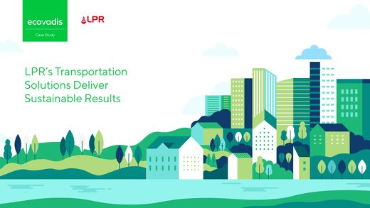 LPR's Transportation Solutions Deliver Sustainable Results