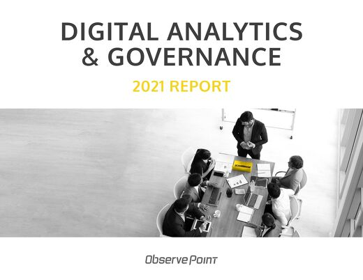2021 Digital Analytics & Governance Report