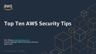 Presentation Slide - Top 10 Cloud Security Tips