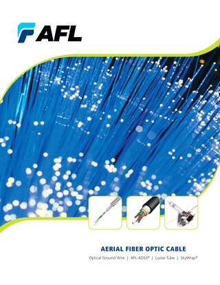 AFL Aerial Fiber Optic Cable