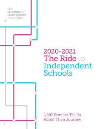 The Ride to Independent Schools 2020-2021 (Report Preview)